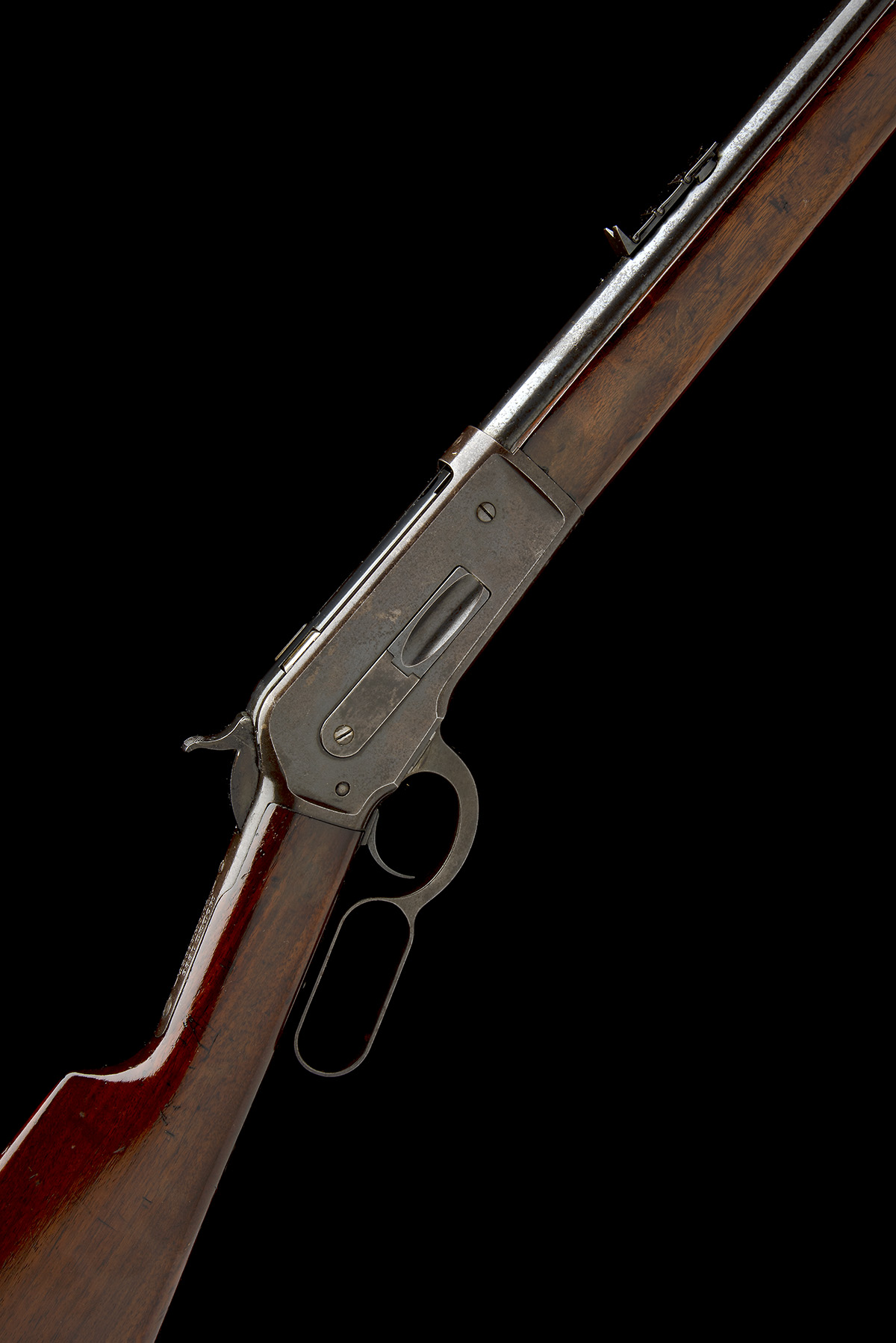WINCHESTER REPEATING ARMS, USA A 50-110 (WCF) LEVER-ACTION SPORTING-RIFLE, MODEL 'ENGLISH MODEL