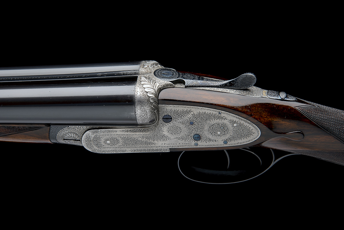 J. PURDEY & SONS A 12-BORE SELF-OPENING SIDELOCK EJECTOR, serial no. 13745, circa 1891, 29 7/8in. - Image 6 of 8