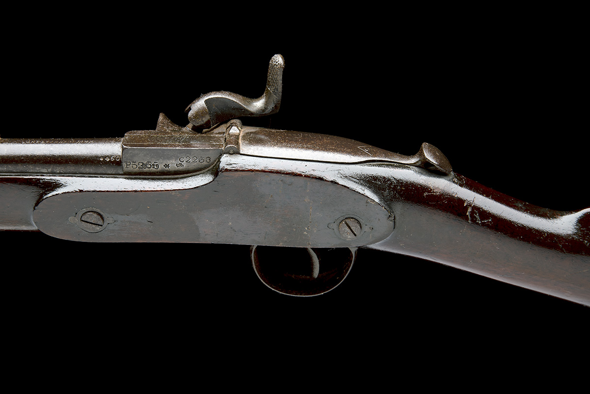 WESTLEY RICHARDS & CO, BIRMINGHAM A .450 (WHITWORTH) CAPPING BREECH-LOADING CARBINE, MODEL ' - Image 4 of 9