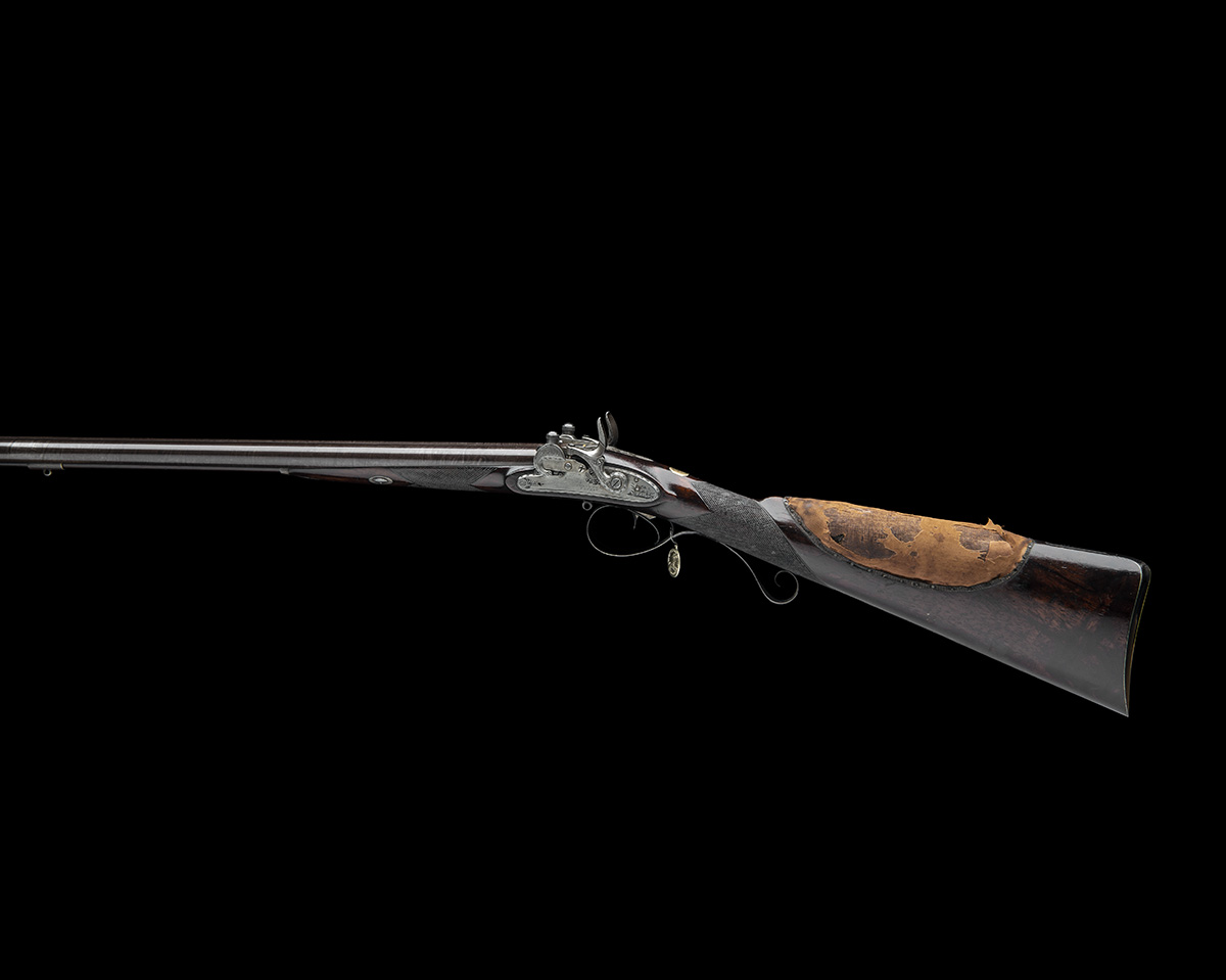 EX W. KEITH NEAL: FORSYTH & CO., LONDON AN EXCEEDINGLY RARE 19-BORE SELF-PRIMING SPORTING GUN, - Image 2 of 21