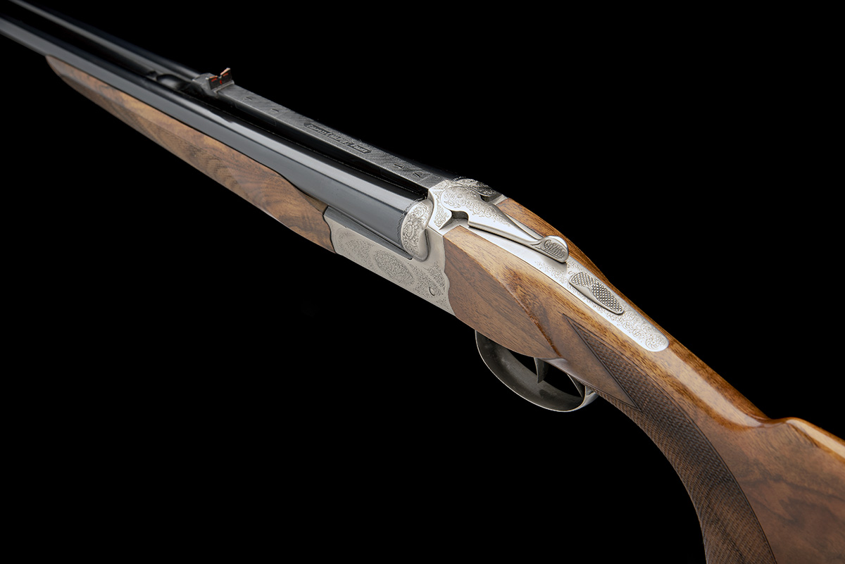 CHAPUIS A VIRTUALLY UNUSED 9.3X74R 'UGEX' BOXLOCK EJECTOR DOUBLE RIFLE, serial no. 41076, 23 5/ - Image 5 of 7