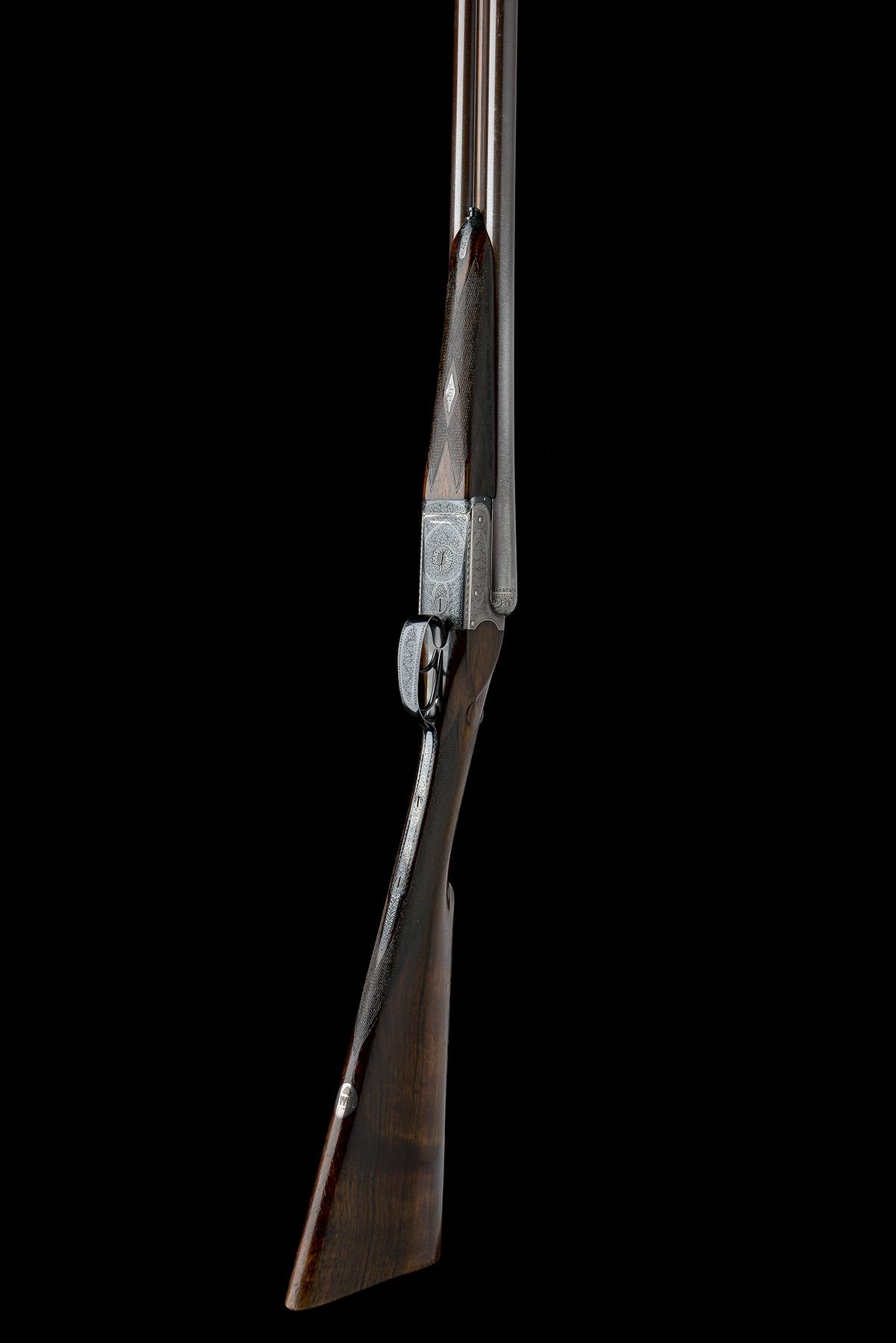 ROWLAND WATSON A 12-BORE BOXLOCK EJECTOR, serial no. 19742, circa 1938, 30in. nitro damascus - Image 8 of 8