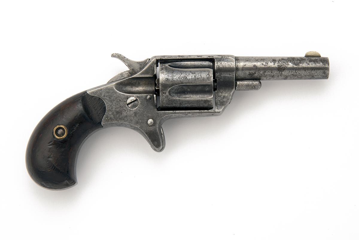 COLT, USA A .30 (RIMFIRE) FIVE-SHOT VEST-REVOLVER, MODEL 'NEW-LINE', serial no. 9695, for 1876, with