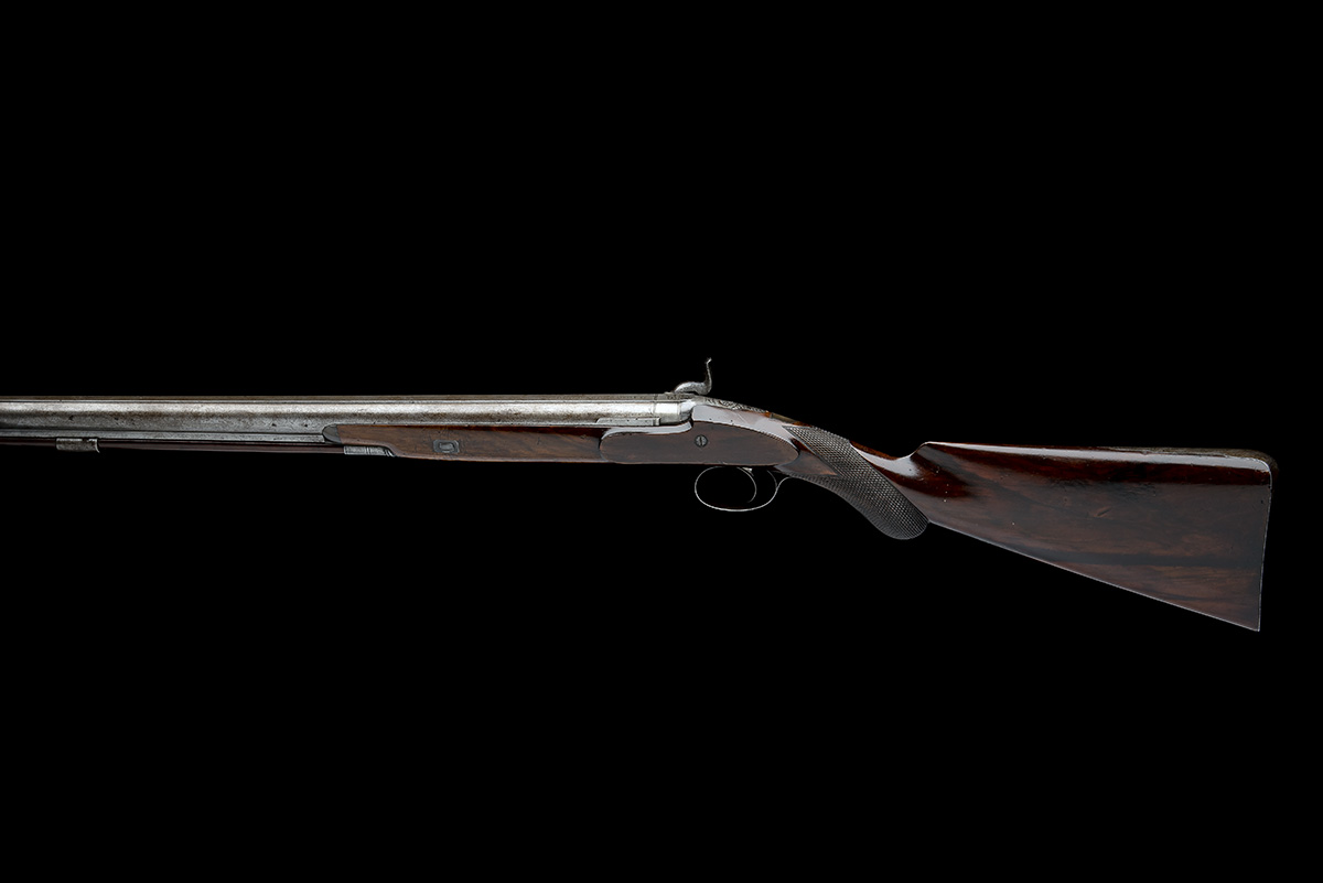 E. LONDON, LONDON AN 11-BORE PERCUSSION SINGLE-BARRELLED SPORTING-GUN, no visible serial number, - Image 2 of 8
