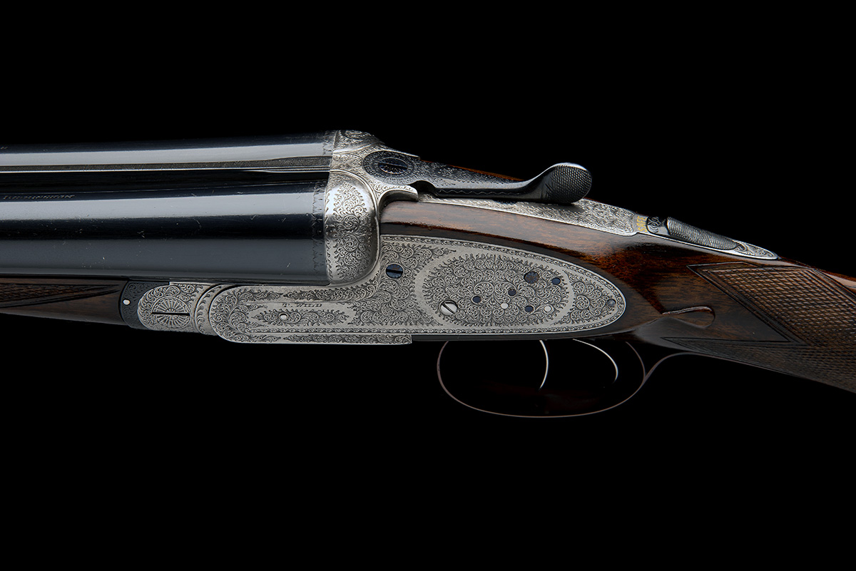 T. WILD A 12-BORE SIDELOCK EJECTOR, serial no. 21717, circa 1946, 28in. nitro reproved barrels (in - Image 7 of 8