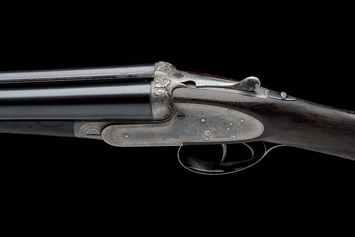 J. PURDEY & SONS A 12-BORE SELF-OPENING SIDELOCK EJECTOR, serial no. 16229, for 1898, 26in. - Image 4 of 10