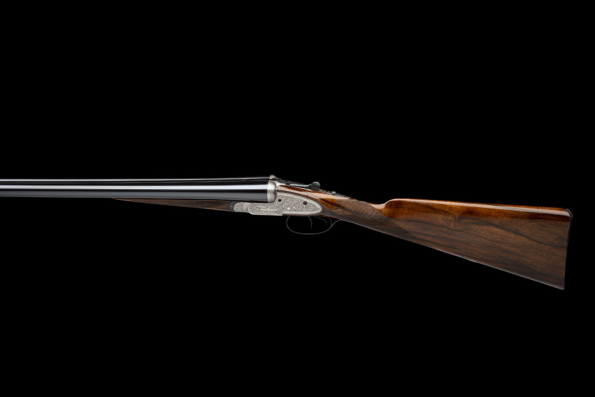 WILLIAM EVANS A 12-BORE SIDELOCK EJECTOR, serial no. 11547, for 1916, 28in. nitro barrels, the rib - Image 2 of 12