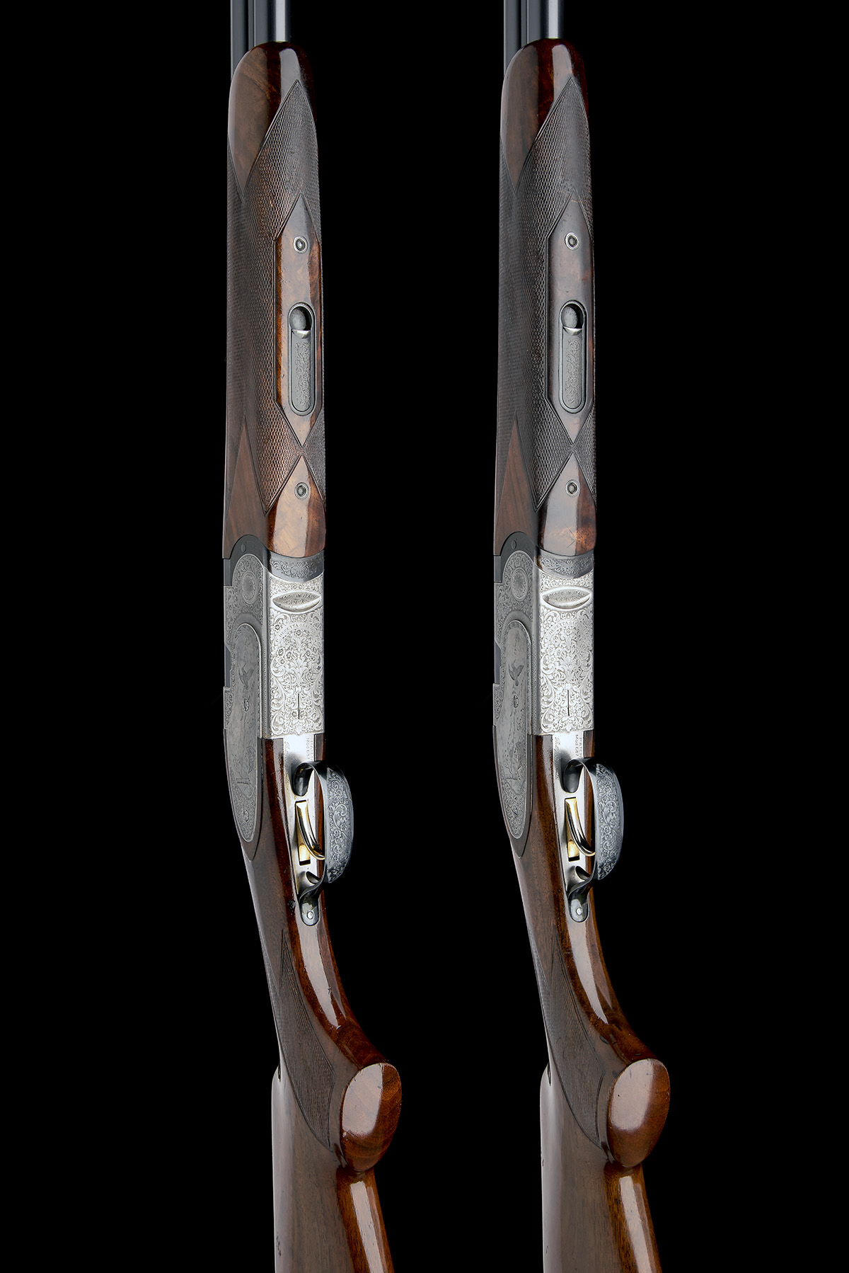 P. BERETTA A PAIR OF 20-BORE 'MOD. 687 EELL' SINGLE-TRIGGER OVER AND UNDER EJECTORS, serial no. - Image 3 of 10