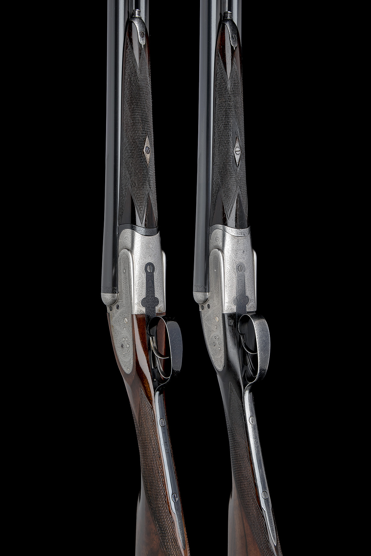 B. NORMAN A PAIR OF 12-BORE SIDELOCK EJECTORS, serial no. 2051 / 2, first quarter of the 20th - Image 3 of 8