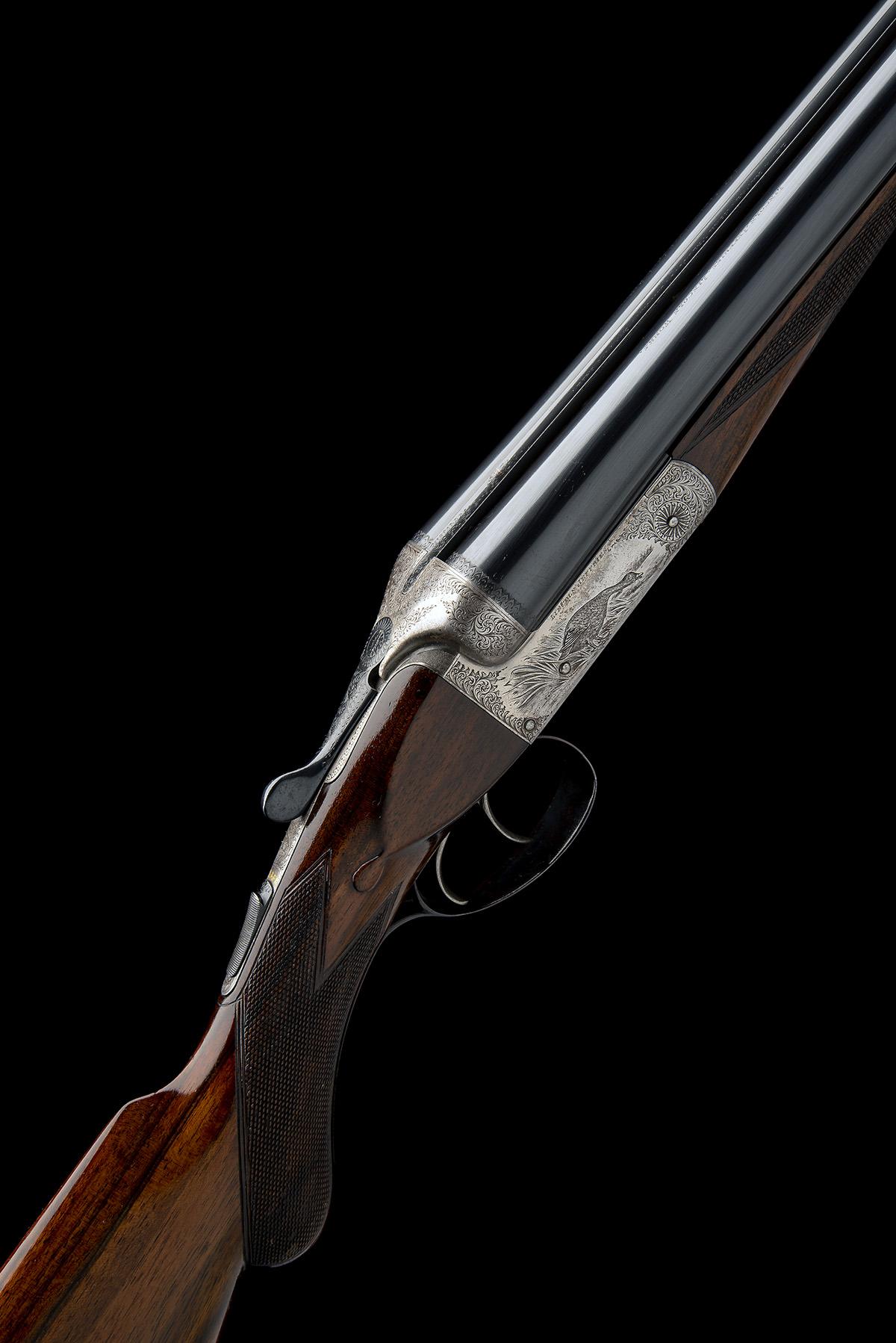 LINCOLN JEFFRIES A 12-BORE (3IN. MAGNUM) 'LONG RANGE HIGH VELOCITY BARRELS GUN' BOXLOCK NON-