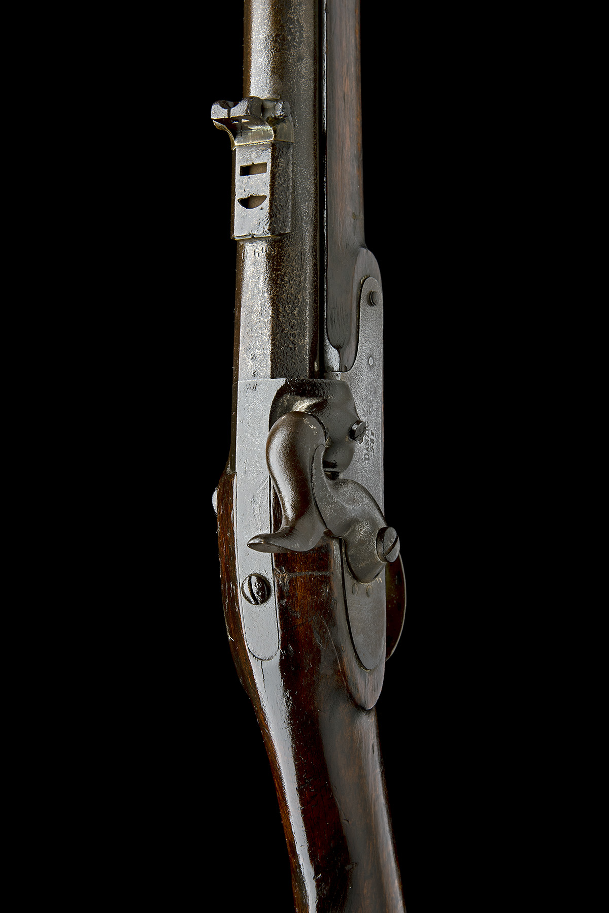 DANZIG ARSENAL, GERMANY A .695 PERCUSSION RIFLED MUSKET, MODEL 'POTSDAM STYLE', serial no. Z843, - Image 7 of 8