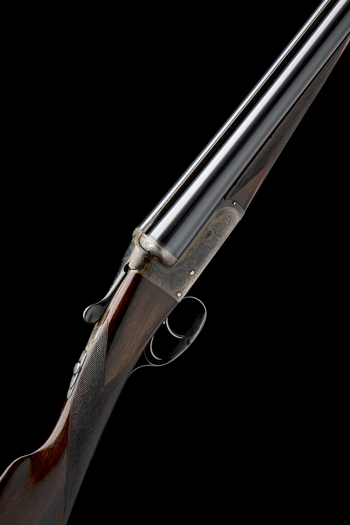 E.J. CHURCHILL A 12-BORE 'UTILITY EASY-OPENING' BOXLOCK EJECTOR, serial no. 5631, for 1936, 25in.