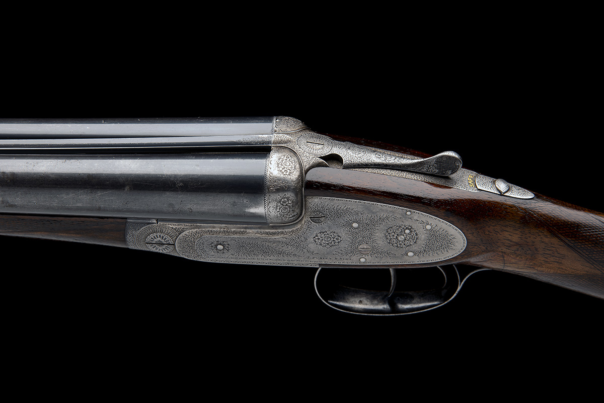 J. PURDEY & SONS A LIGHTWEIGHT 12-BORE ROUNDED-BAR SELF-OPENING SIDELOCK EJECTOR, serial no. - Image 7 of 9