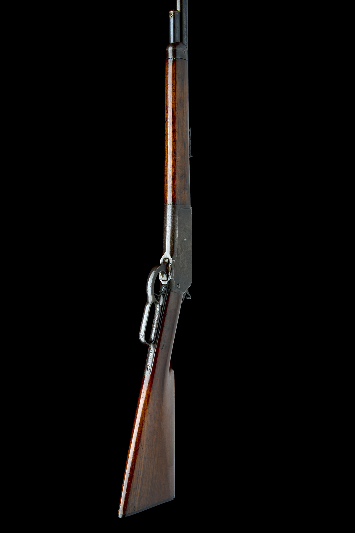 WINCHESTER REPEATING ARMS, USA A 50-110 (WCF) LEVER-ACTION SPORTING-RIFLE, MODEL 'ENGLISH MODEL - Image 7 of 9