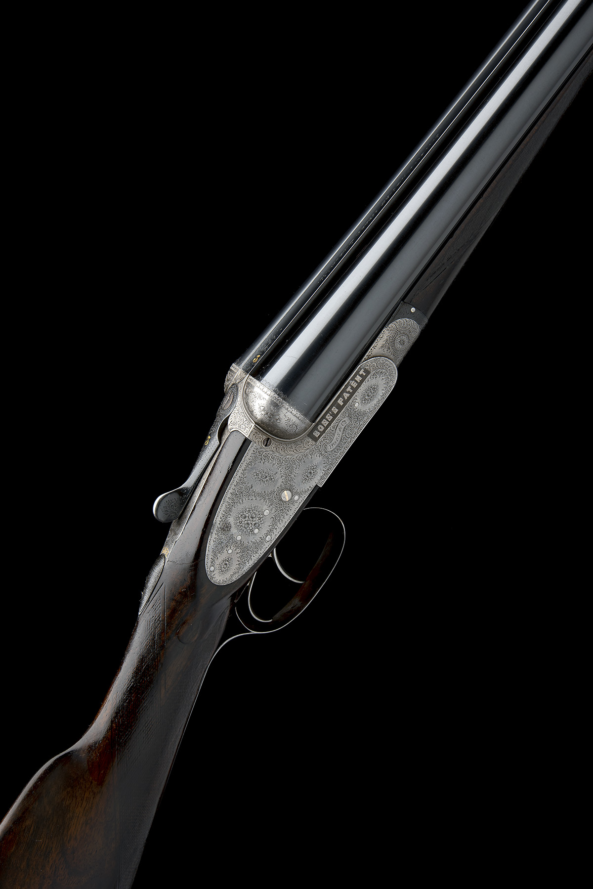 BOSS & CO. A 12-BORE EASY-OPENING SIDELOCK EJECTOR, serial no. 4854, for 1901, 28in. nitro