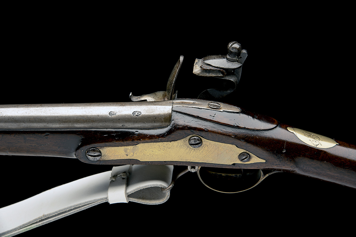 RICHARDS, LONDON A .650 FLINTLOCK MUSKET, UNSIGNED, MODEL 'LIVERY MUSKET', no visible serial number, - Image 4 of 8