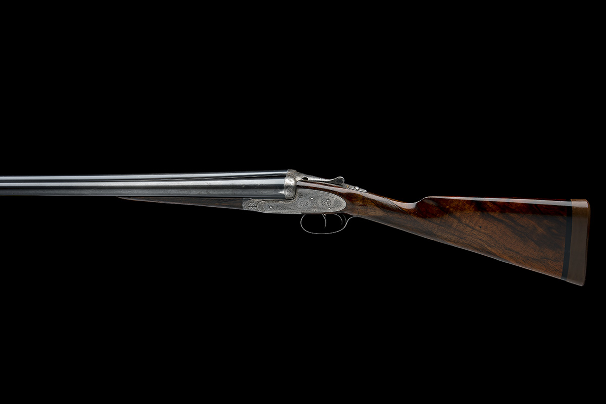 J. PURDEY & SONS A LIGHTWEIGHT 12-BORE ROUNDED-BAR SELF-OPENING SIDELOCK EJECTOR, serial no. - Image 2 of 9