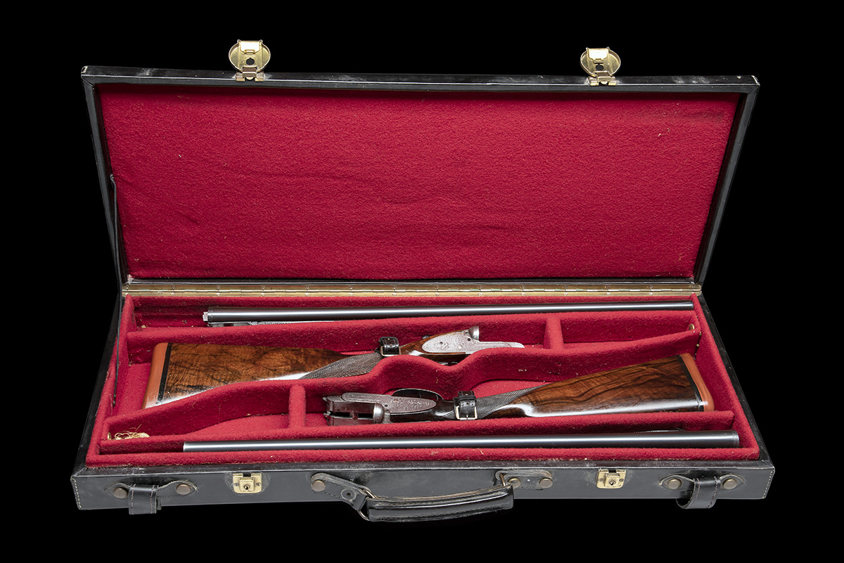 B. NORMAN A PAIR OF 12-BORE SIDELOCK EJECTORS, serial no. 2051 / 2, first quarter of the 20th - Image 8 of 8