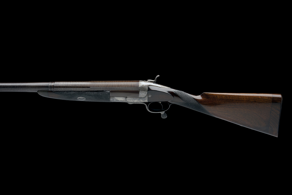 GEORGE GIBBS A 4-BORE SINGLE-BARRELLED ROTARY-UNDERLEVER HAMMERGUN, serial no. 3638, serial number - Image 2 of 9