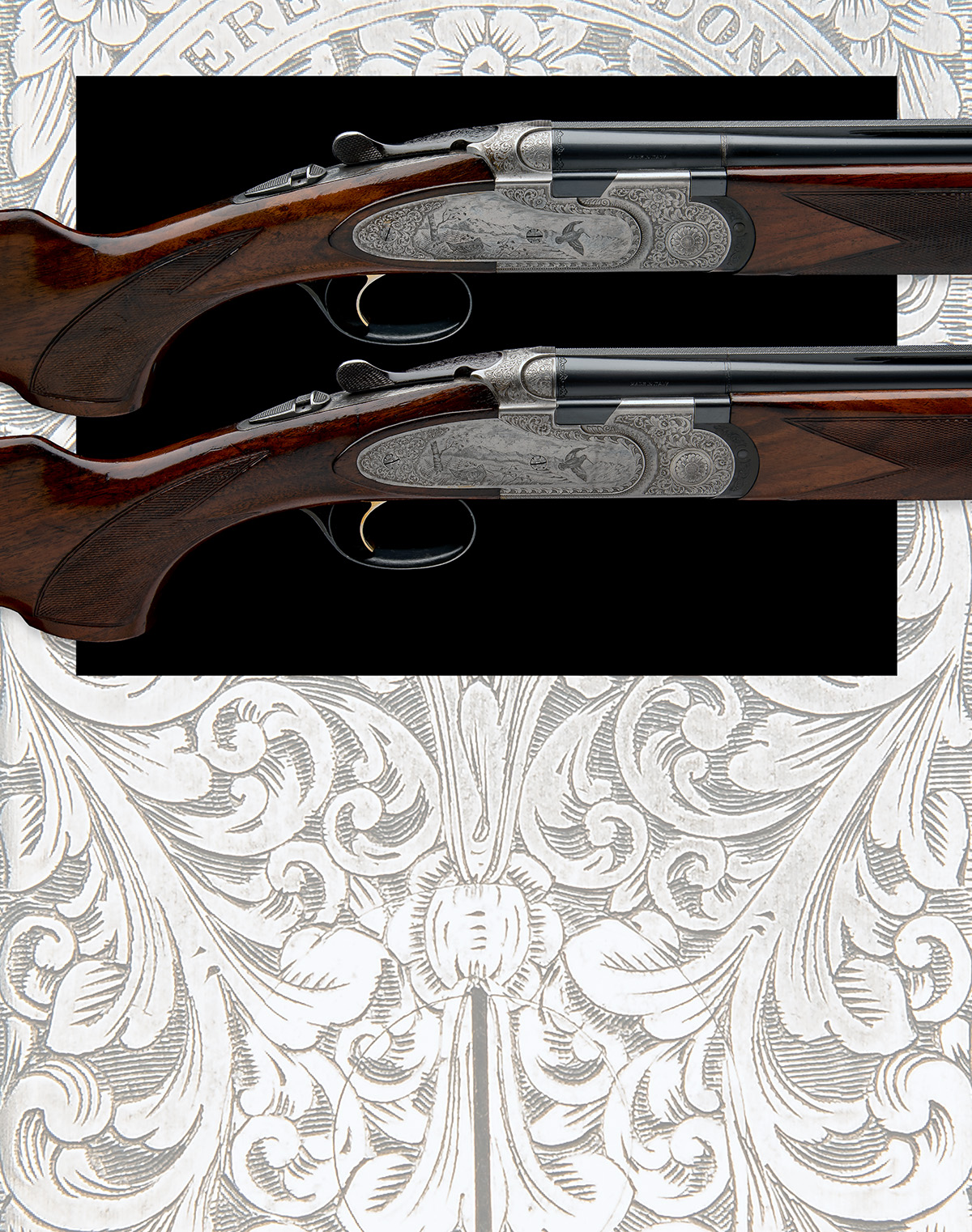 P. BERETTA A PAIR OF 20-BORE 'MOD. 687 EELL' SINGLE-TRIGGER OVER AND UNDER EJECTORS, serial no. - Image 10 of 10