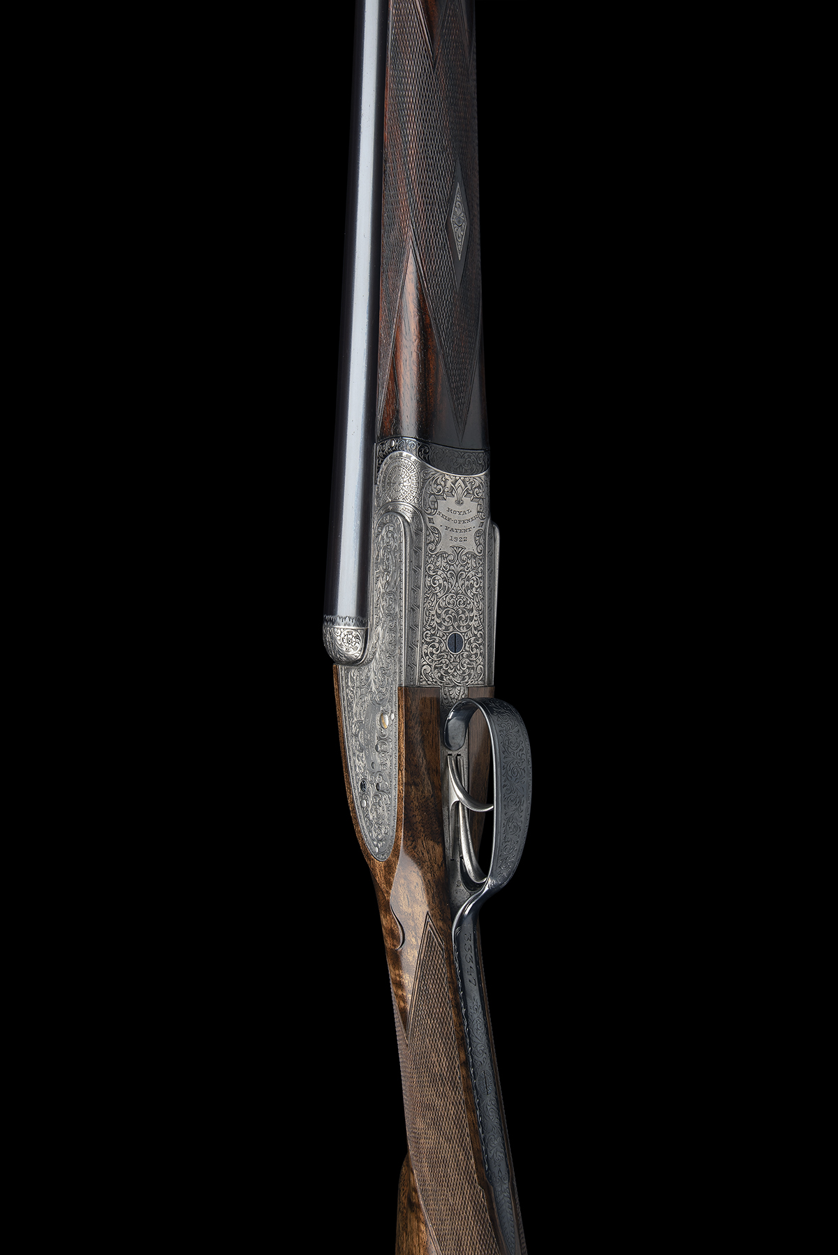 HOLLAND & HOLLAND A 12-BORE 'ROYAL' SELF-OPENING HAND-DETACHABLE SIDELOCK EJECTOR, serial no. 33347, - Image 3 of 9
