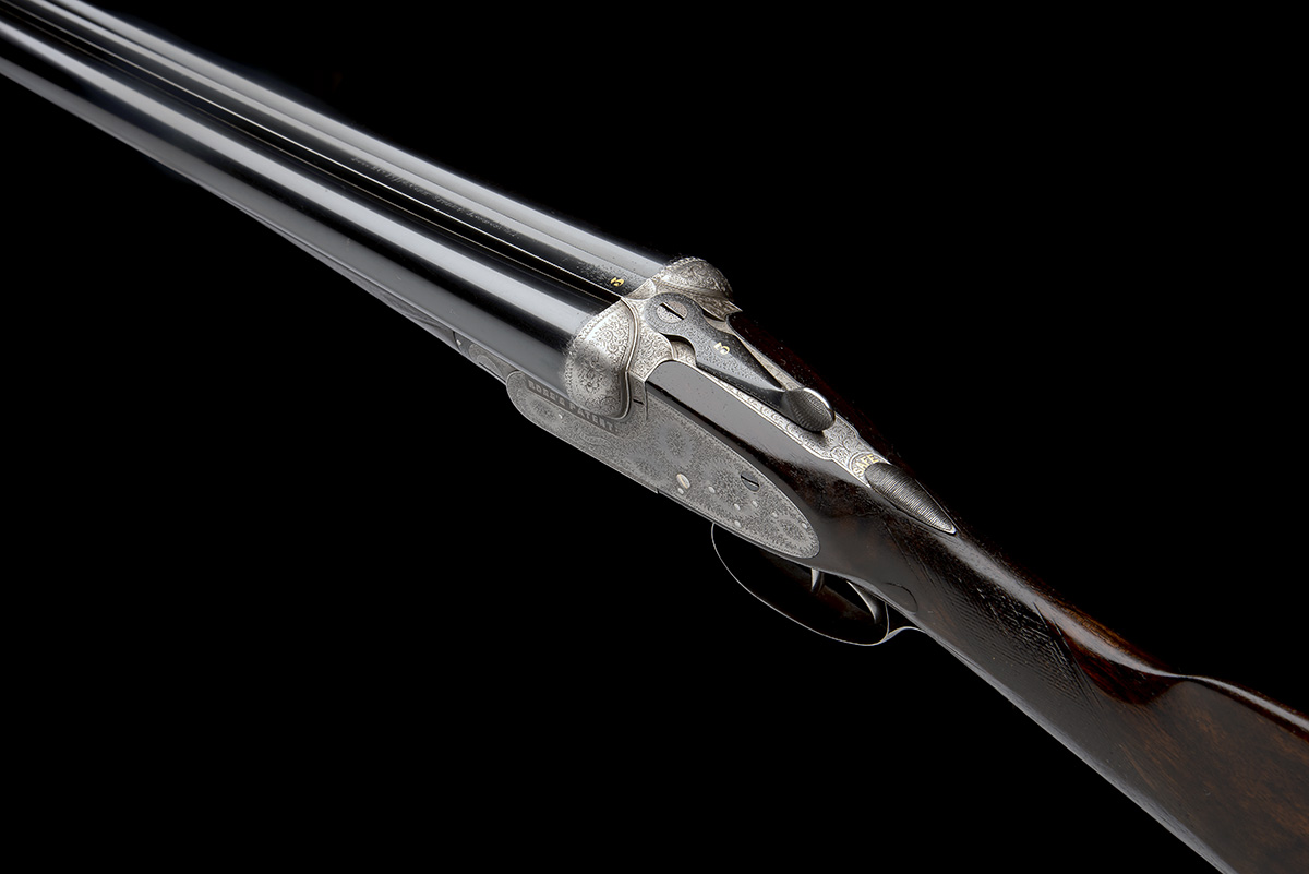 BOSS & CO. A 12-BORE EASY-OPENING SIDELOCK EJECTOR, serial no. 4854, for 1901, 28in. nitro - Image 7 of 8
