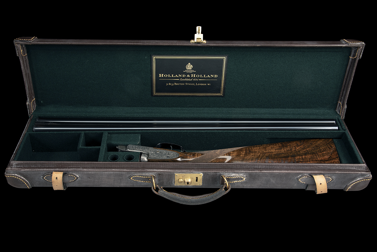 HOLLAND & HOLLAND A 12-BORE 'ROYAL' SELF-OPENING HAND-DETACHABLE SIDELOCK EJECTOR, serial no. 33347, - Image 9 of 9