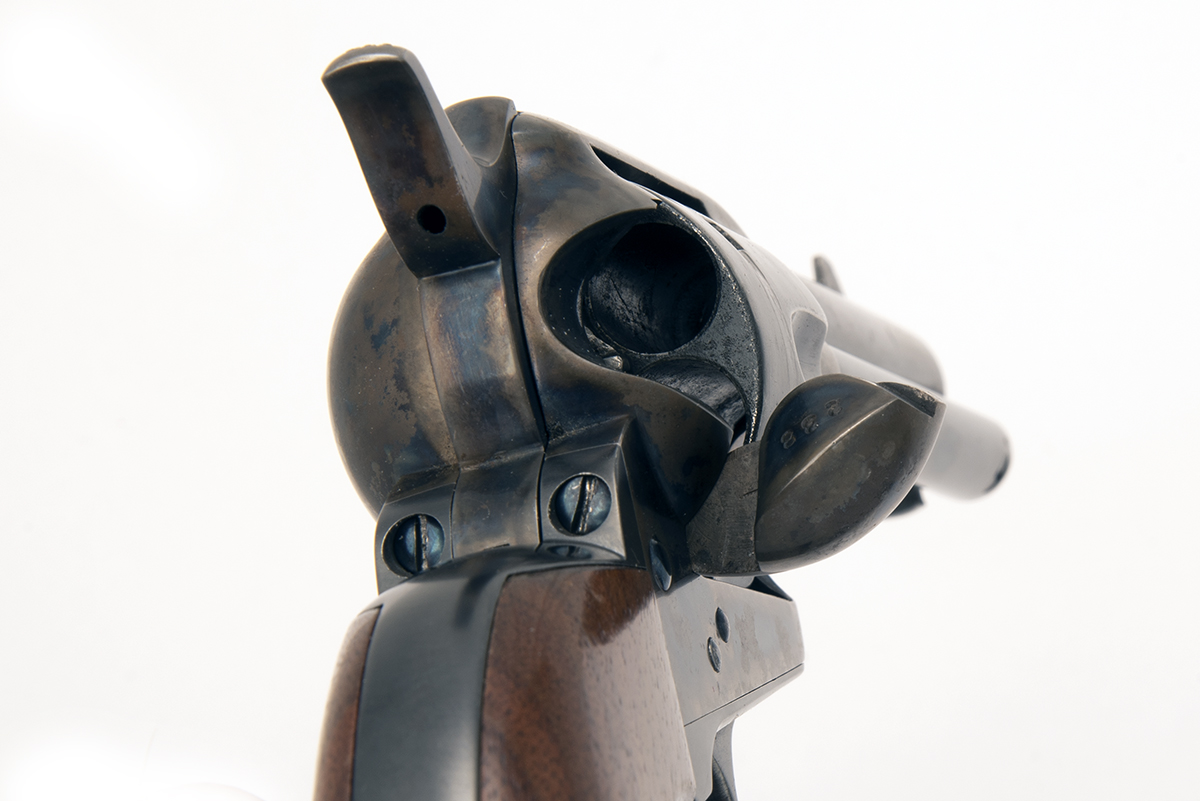COLT, USA A .45 (L/C) SINGLE-ACTION REVOLVER, MODEL 'SERIES ONE SINGLE ACTION ARMY', serial no. - Image 3 of 3