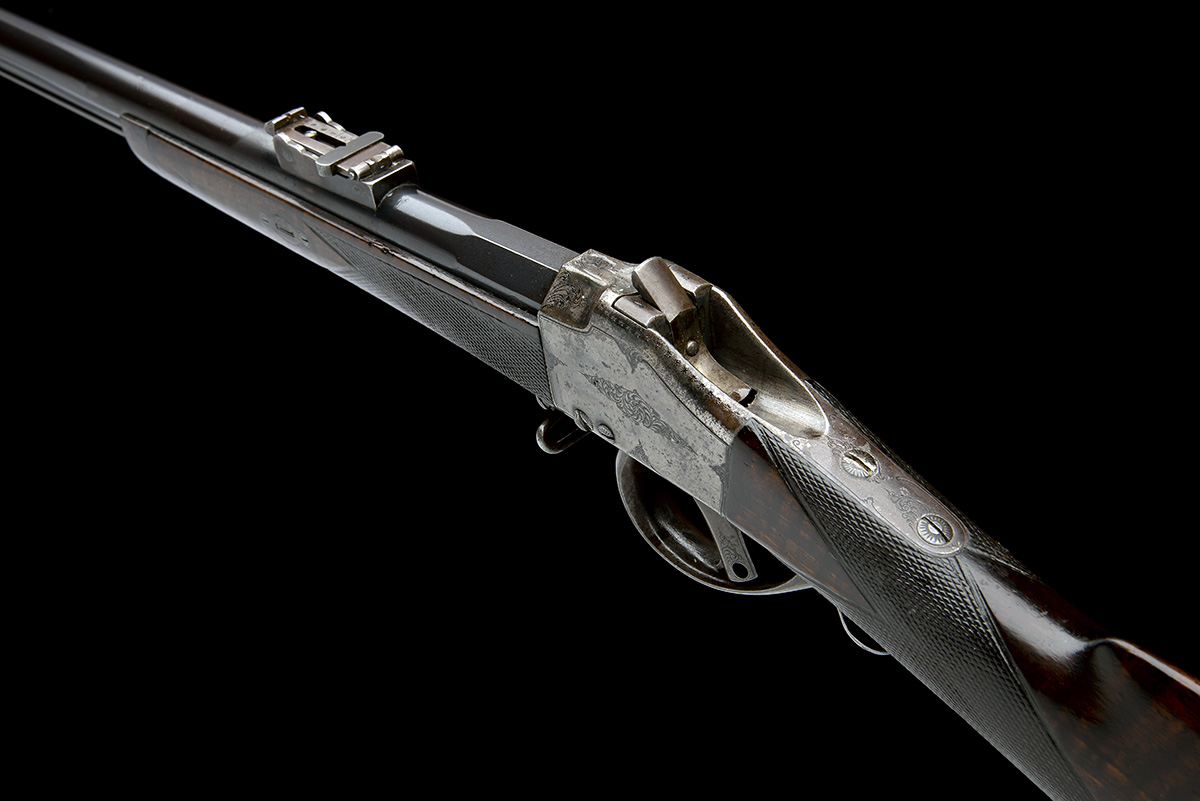 CHILEAN COMBLAIN AN 11x50R SINGLE-SHOT FALLING-BLOCK SPORTING-RIFLE, UNSIGNED, MODEL 'M84 COMBLAIN - Image 5 of 9