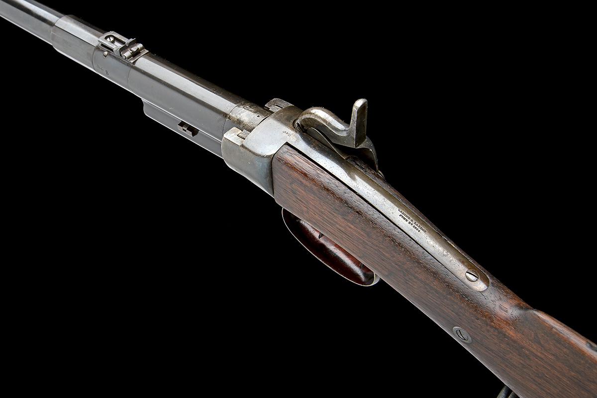 MASSACHUSETTS ARMS, USA A .54 CAPPING BREECH-LOADING CARBINE, MODEL 'GREENE'S PATENT BRITISH ISSUE', - Image 5 of 8