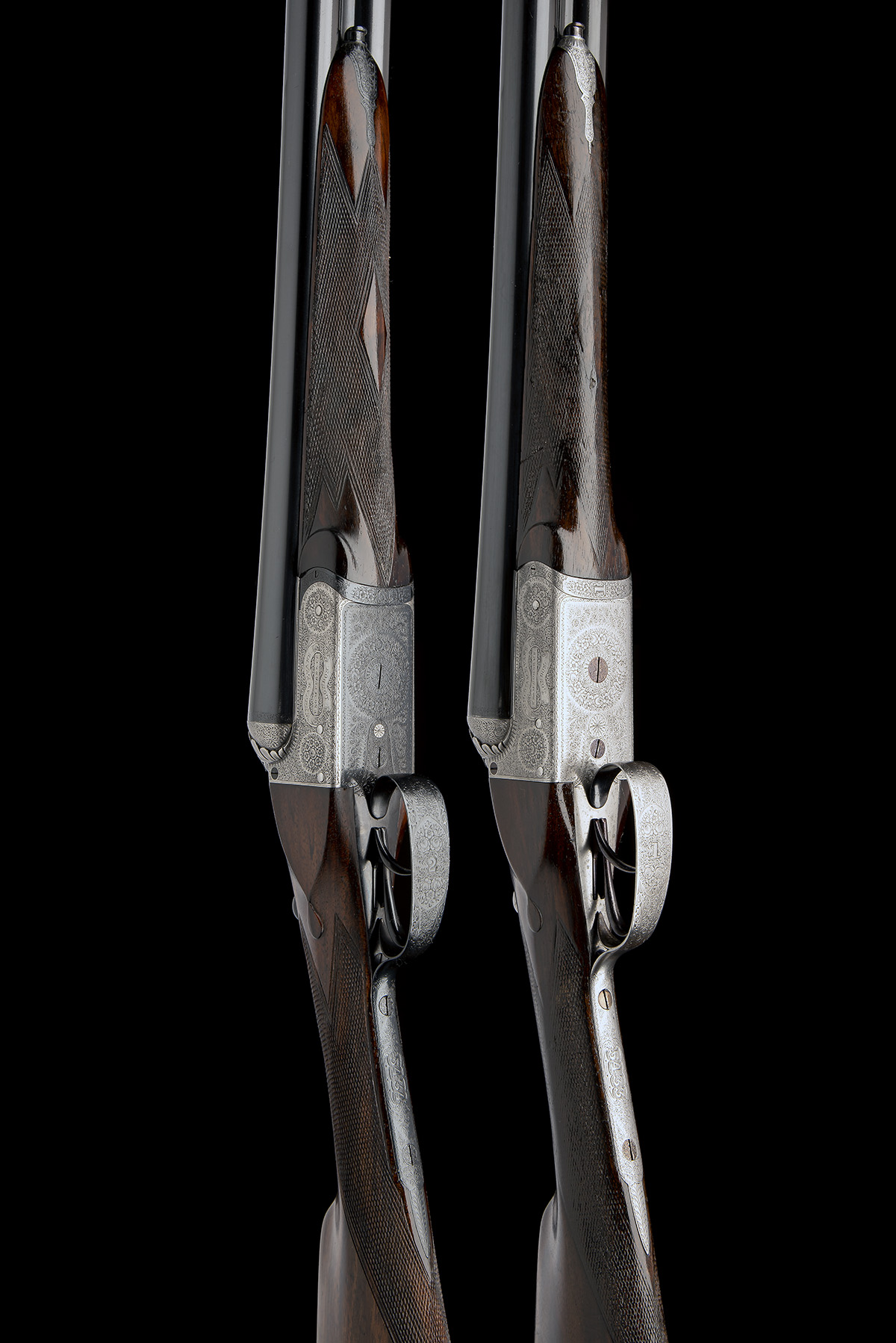 WILLIAM EVANS (FROM PURDEY'S) A PAIR OF 12-BORE BOXLOCK EJECTORS, serial no. 5433 / 4, for 1901, - Image 3 of 11