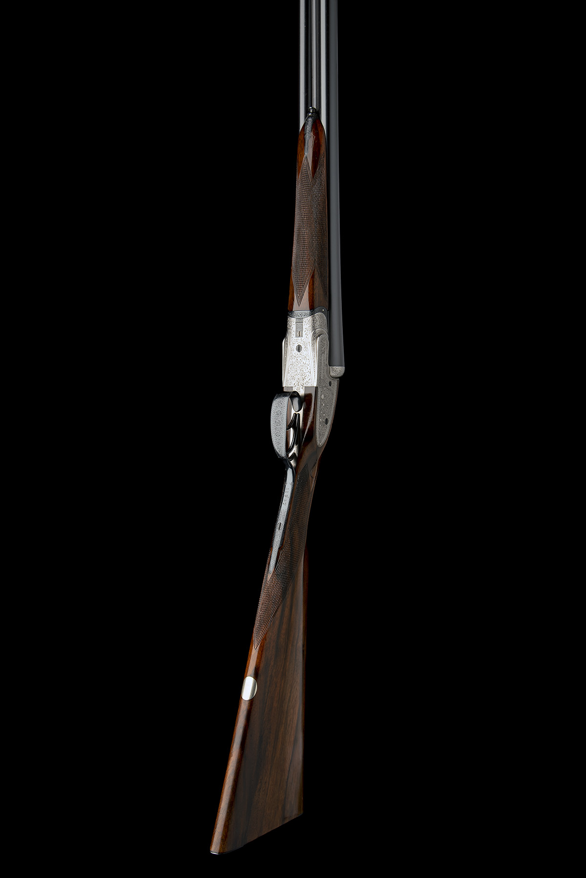 WILLIAM EVANS A 12-BORE SIDELOCK EJECTOR, serial no. 11547, for 1916, 28in. nitro barrels, the rib - Image 8 of 12