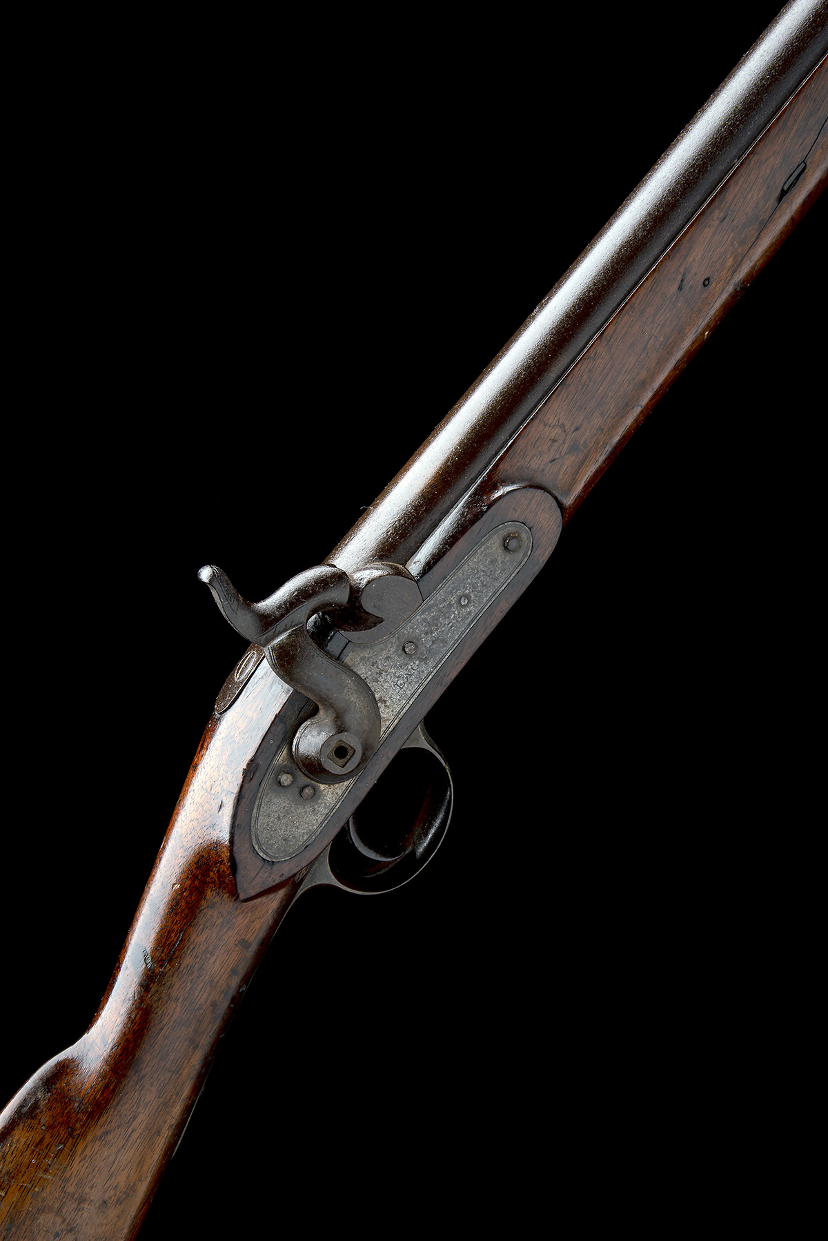 LACY & CO, LONDON A .750 PERCUSSION CARBINE, MODEL 'PATTERN '42 CONSTABULARY CARBINE', no visible