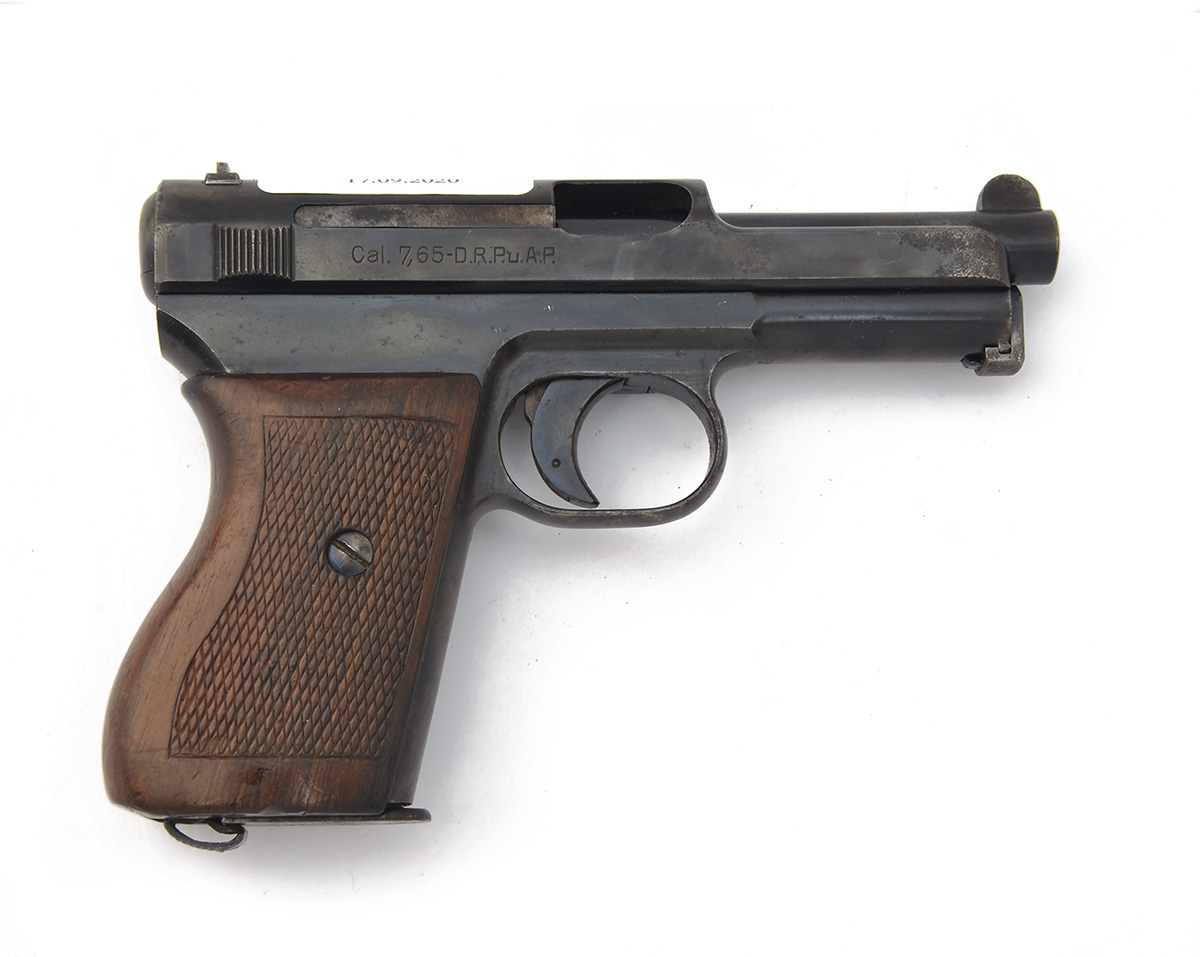 FORMERLY THE PROPERTY OF LORD BRABOURNE A 7.65mm SEMI-AUTOMATIC PISTOL SIGNED MAUSER, MODEL 'M1934',