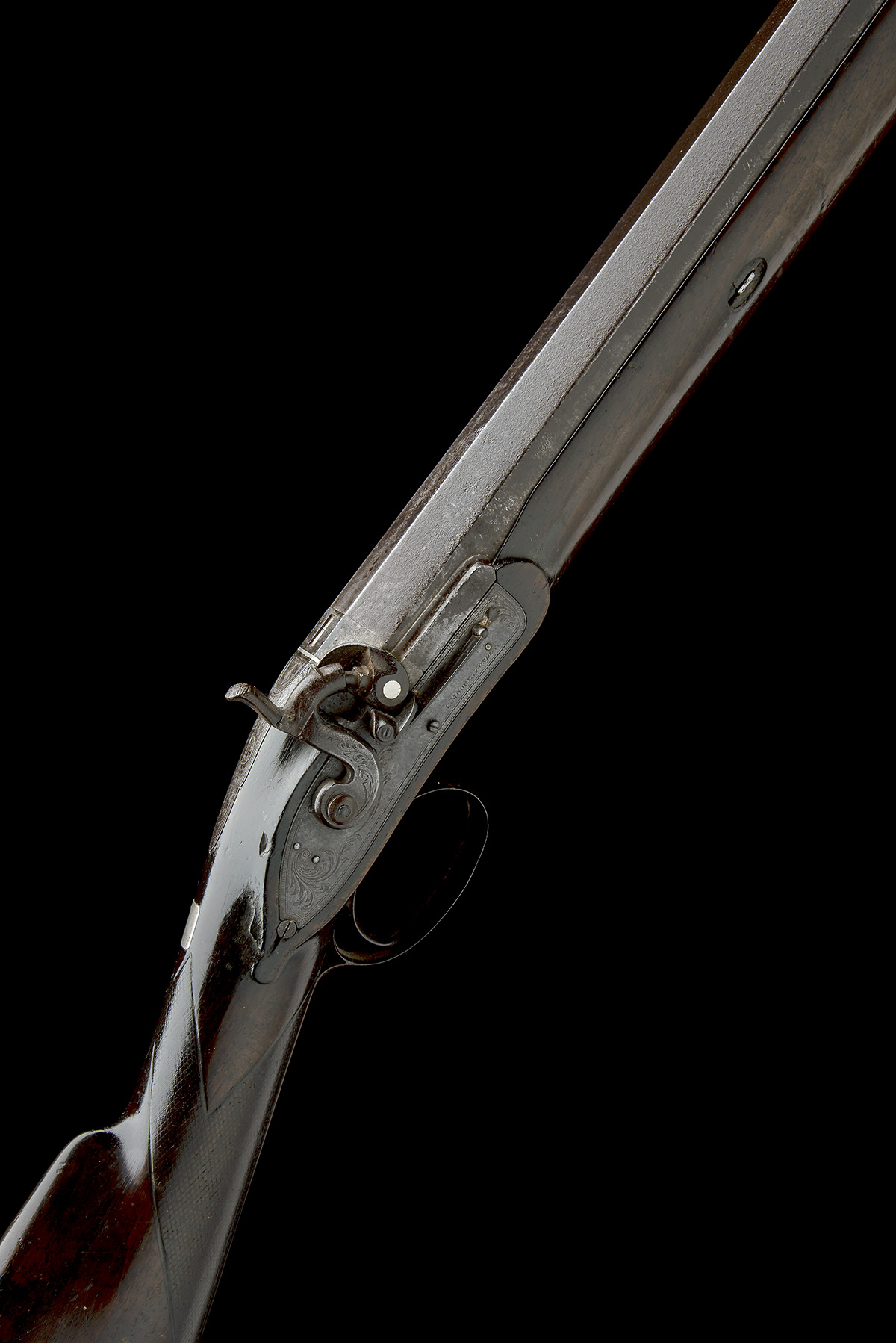 C. MOORE, LONDON A SUBSTANTIAL 8-BORE PERCUSSION FOWLING-PIECE, no visible serial number, made