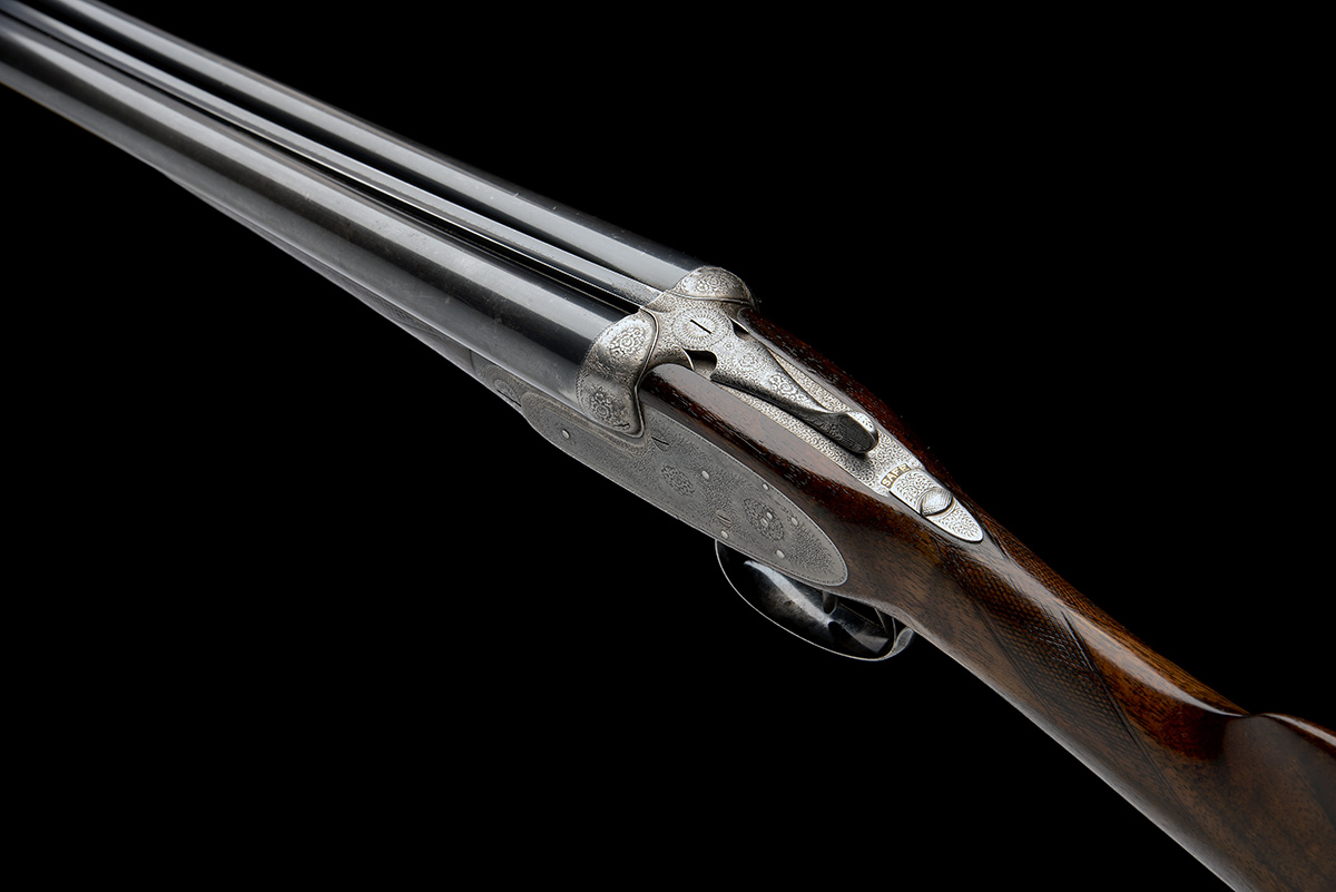 J. PURDEY & SONS A LIGHTWEIGHT 12-BORE ROUNDED-BAR SELF-OPENING SIDELOCK EJECTOR, serial no. - Image 8 of 9