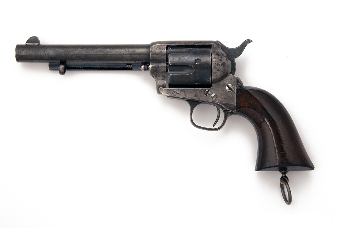 COLT, USA A CASED .450 (BOXER) SINGLE-ACTION REVOLVER, MODEL '1873 SINGLE-ACTION ARMY', serial no. - Image 3 of 3