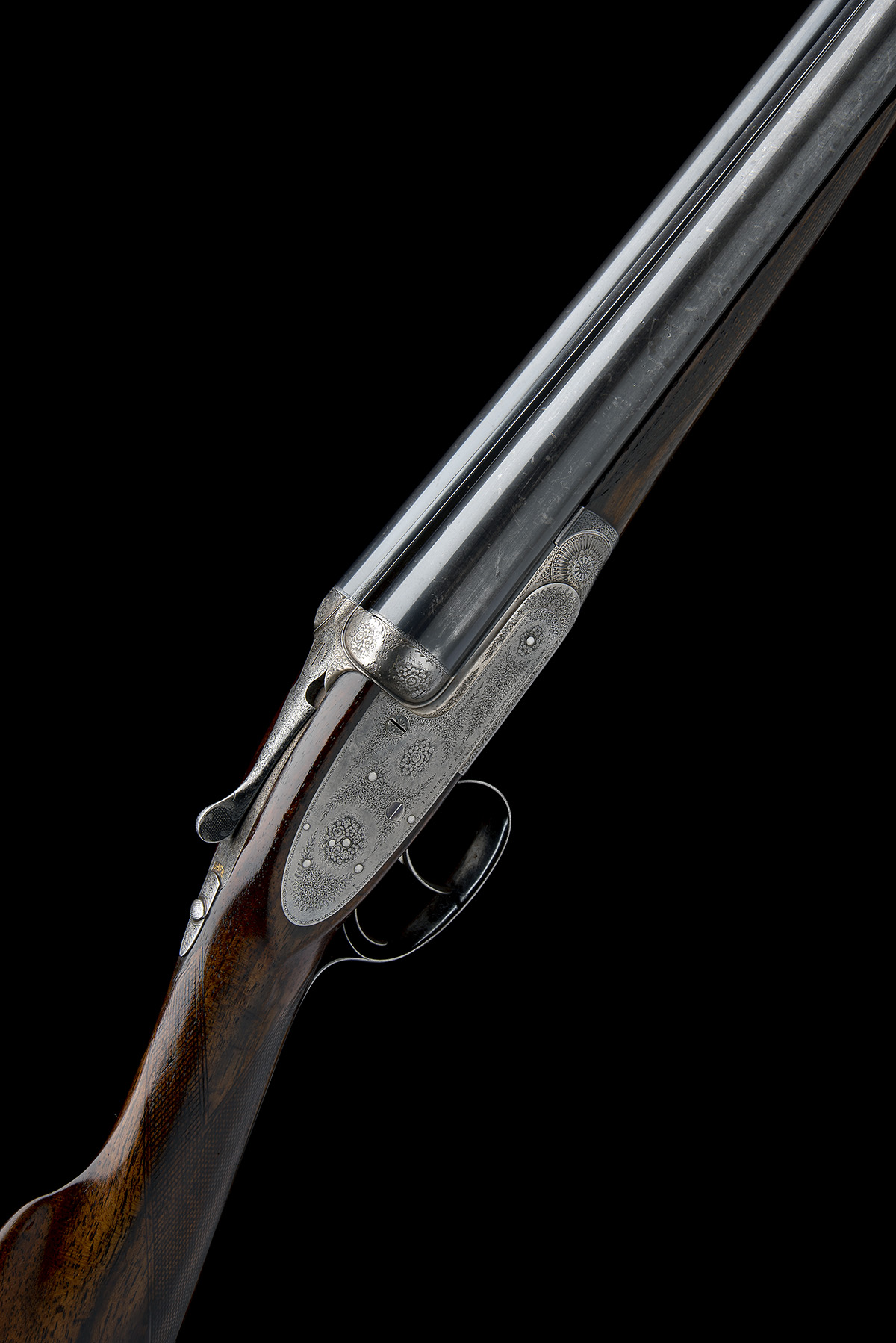 J. PURDEY & SONS A LIGHTWEIGHT 12-BORE ROUNDED-BAR SELF-OPENING SIDELOCK EJECTOR, serial no.