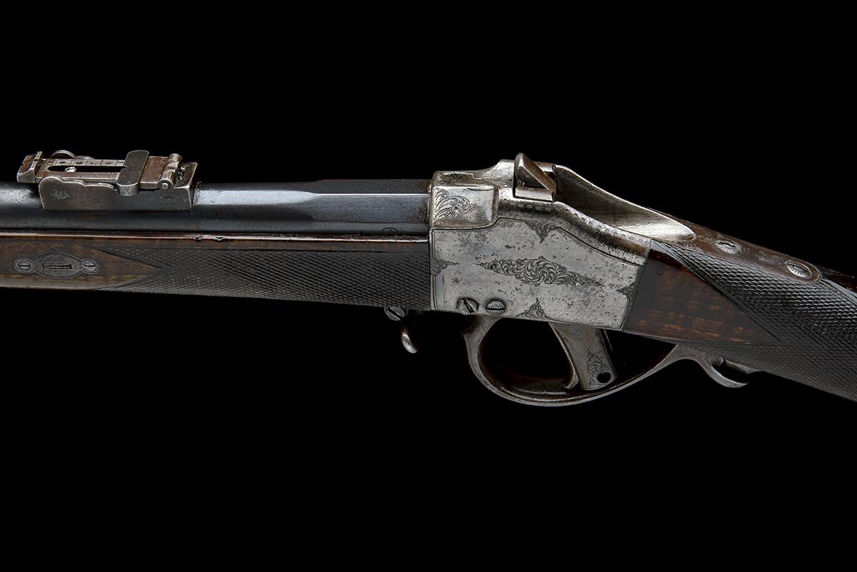 CHILEAN COMBLAIN AN 11x50R SINGLE-SHOT FALLING-BLOCK SPORTING-RIFLE, UNSIGNED, MODEL 'M84 COMBLAIN - Image 4 of 9