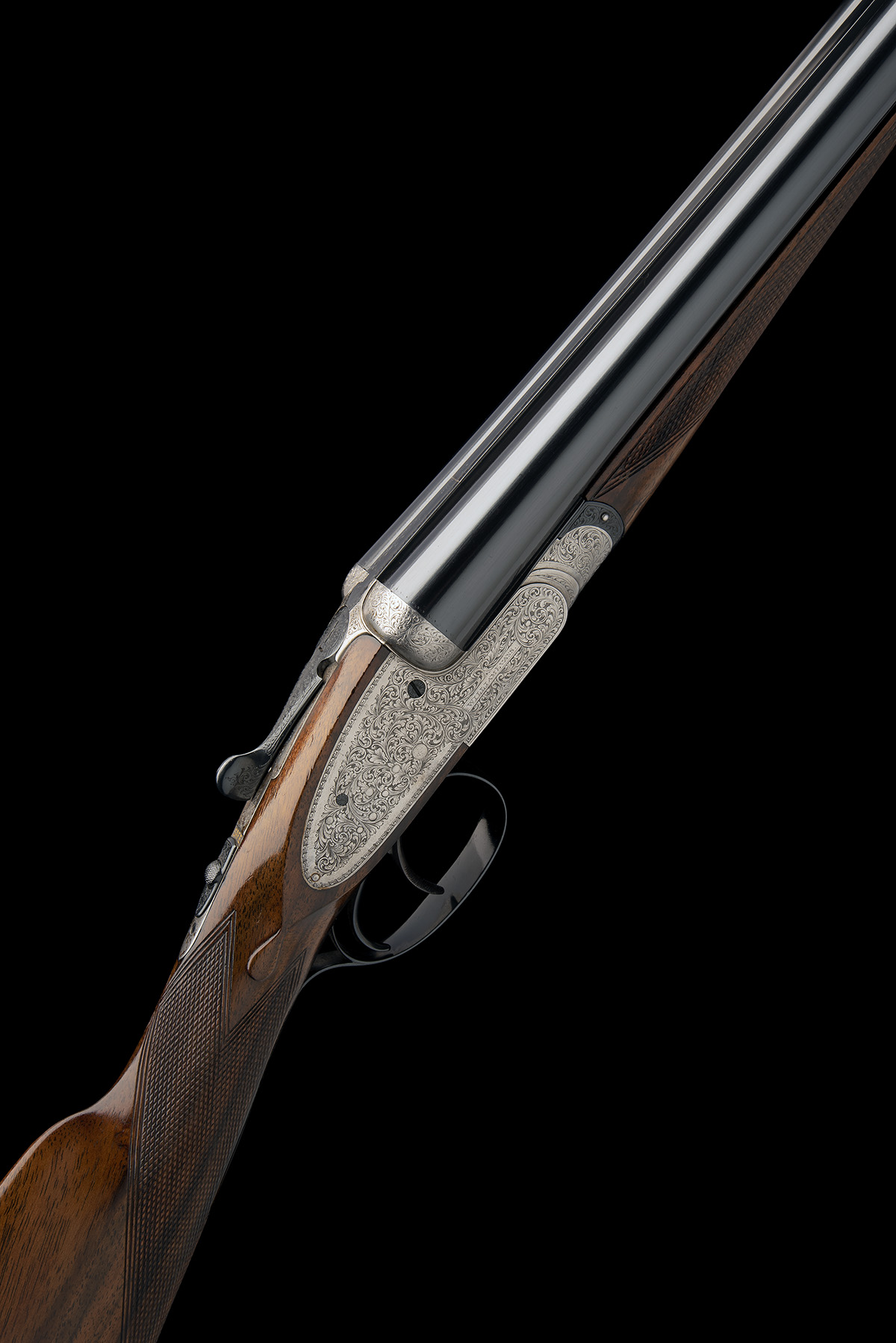 WILLIAM EVANS A 12-BORE SIDELOCK EJECTOR, serial no. 11547, for 1916, 28in. nitro barrels, the rib