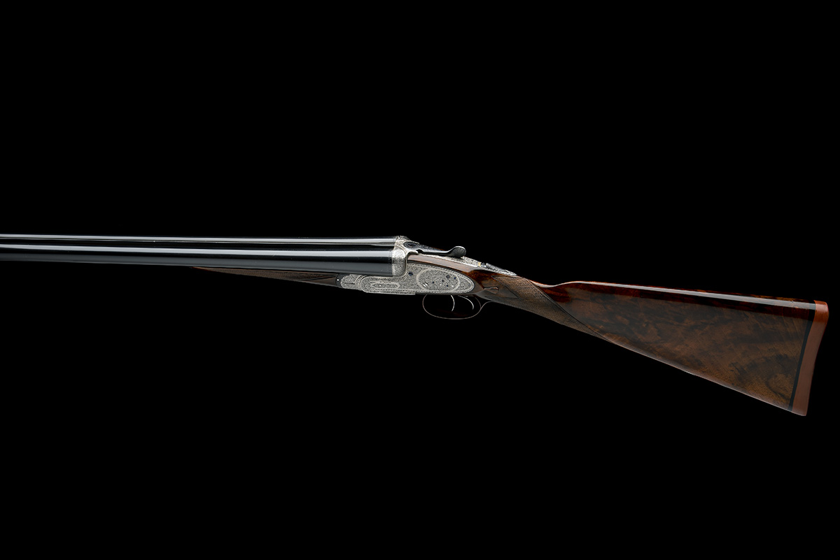 T. WILD A 12-BORE SIDELOCK EJECTOR, serial no. 21717, circa 1946, 28in. nitro reproved barrels (in - Image 2 of 8