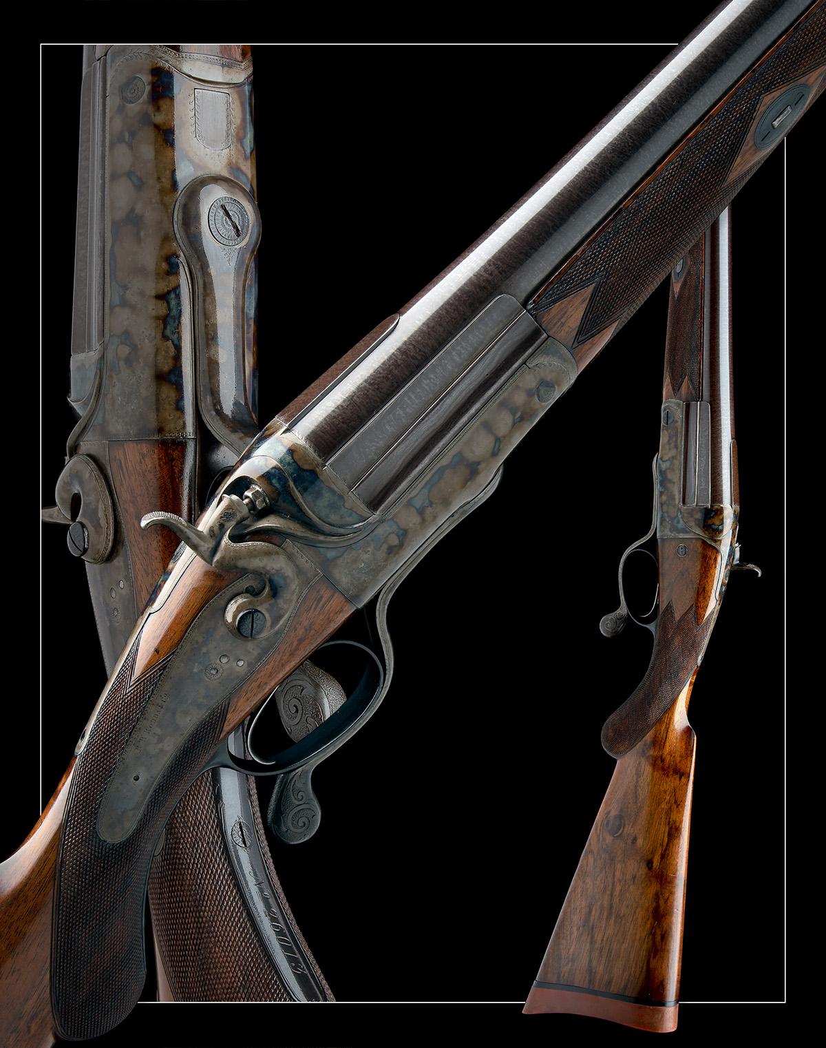 R.B. RODDA A 4-BORE SINGLE-BARRELLED ROTARY-UNDERLEVER HAMMERGUN, serial no. 26013, circa 1880, 38 - Image 8 of 8