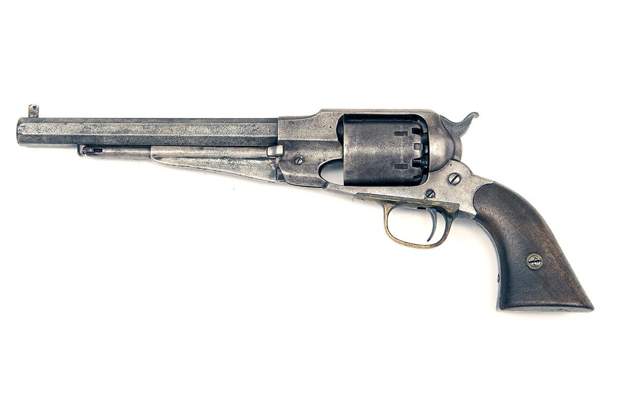 E. REMINGTON & SONS, USA A .44 PERCUSSION SIX-SHOT REVOLVER, MODEL '1858 NEW MODEL ARMY', serial no. - Image 2 of 5