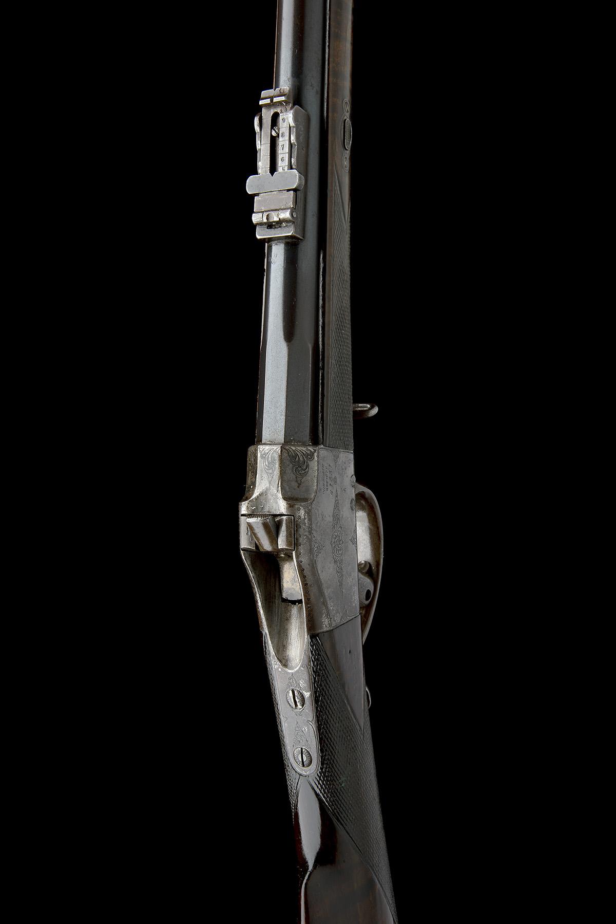 CHILEAN COMBLAIN AN 11x50R SINGLE-SHOT FALLING-BLOCK SPORTING-RIFLE, UNSIGNED, MODEL 'M84 COMBLAIN - Image 6 of 9