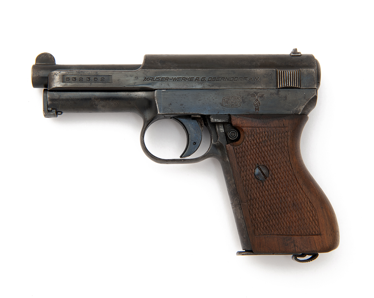 FORMERLY THE PROPERTY OF LORD BRABOURNE A 7.65mm SEMI-AUTOMATIC PISTOL FOR THE KRIEGSMARINE SIGNED - Image 2 of 3