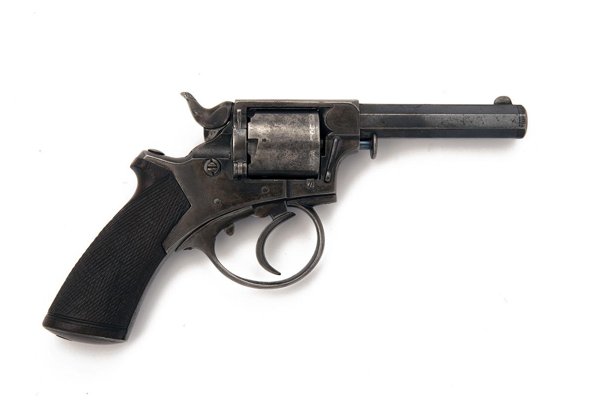 W. TRANTER FOR J. BLANCH A .320 RIMFIRE FIVE-SHOT OVERCOAT REVOLVER, MODEL 'TRANTER's PATENT',