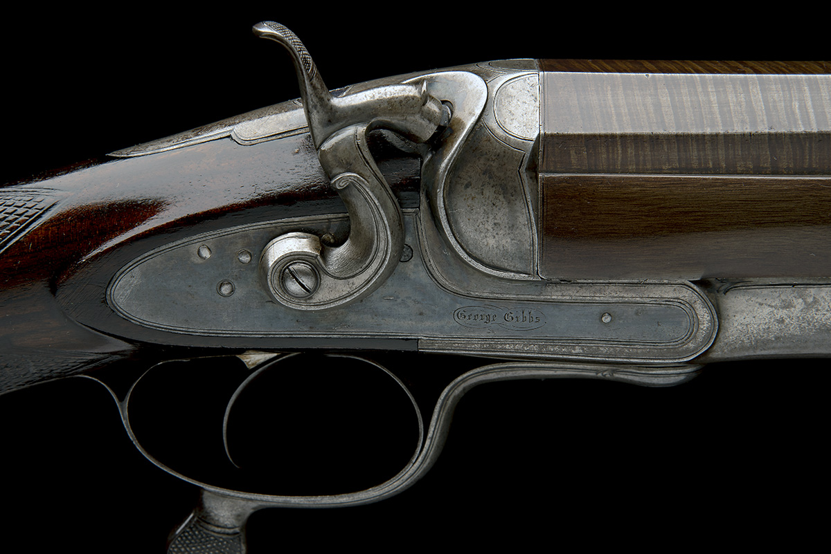 GEORGE GIBBS A 4-BORE SINGLE-BARRELLED ROTARY-UNDERLEVER HAMMERGUN, serial no. 3638, serial number - Image 8 of 9