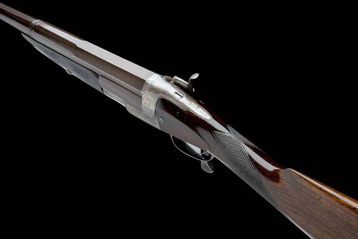 GEORGE GIBBS A 4-BORE SINGLE-BARRELLED ROTARY-UNDERLEVER HAMMERGUN, serial no. 3638, serial number - Image 5 of 9