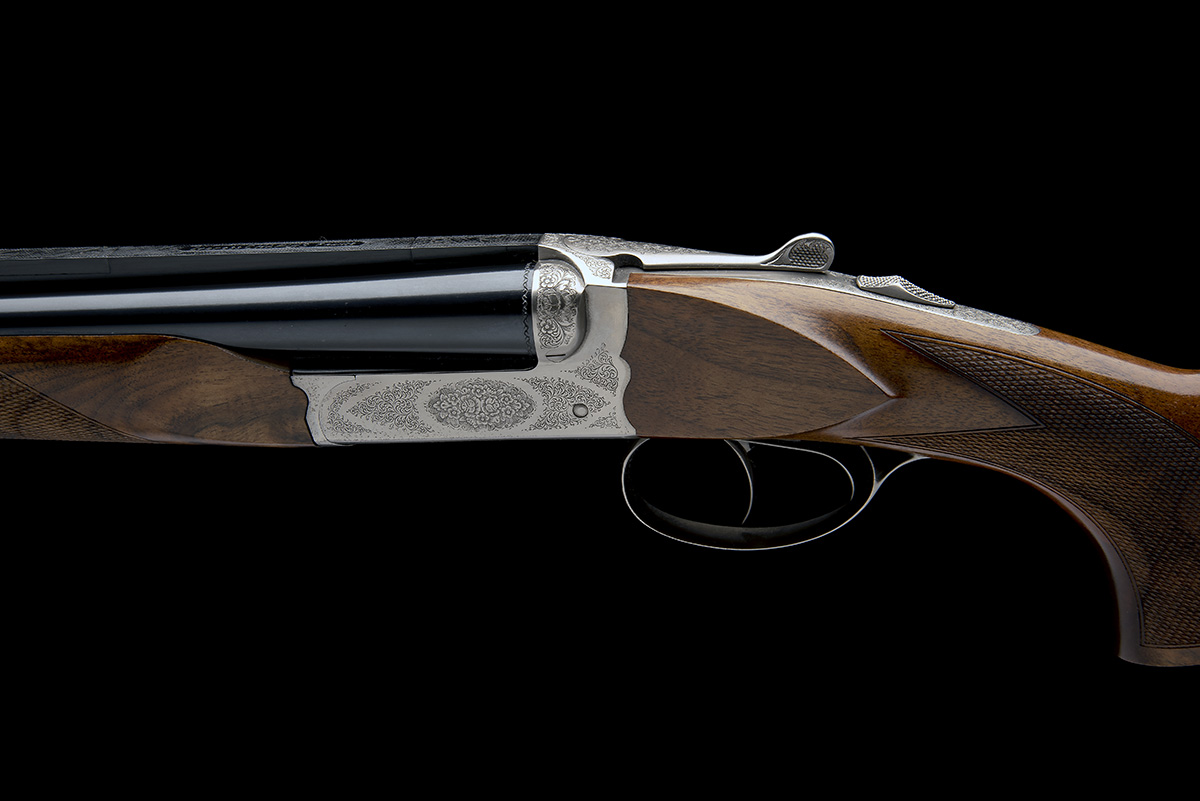 CHAPUIS A VIRTUALLY UNUSED 9.3X74R 'UGEX' BOXLOCK EJECTOR DOUBLE RIFLE, serial no. 41076, 23 5/ - Image 4 of 7