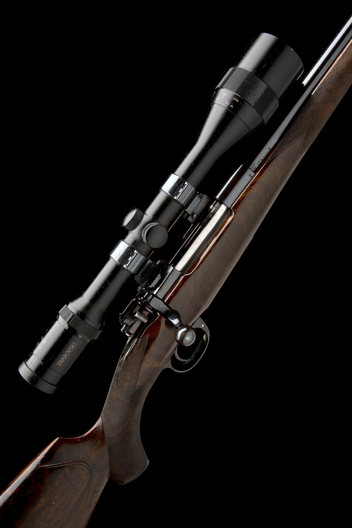 RONALD WHARTON (FROM RIGBY'S) A .275 (RIGBY) TAKE-DOWN BOLT-MAGAZINE SPORTING RIFLE, serial no.